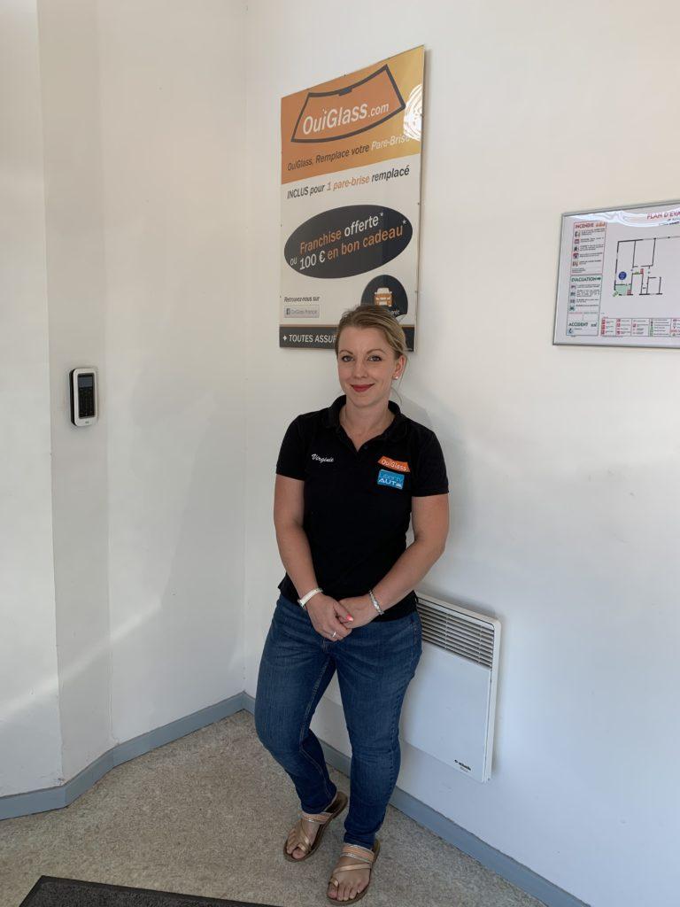 Virginie Keller, conseillère commerciale à OuiGlass Saint-Avold