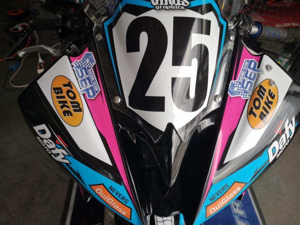 courses de motos contre la sclérose en plaques