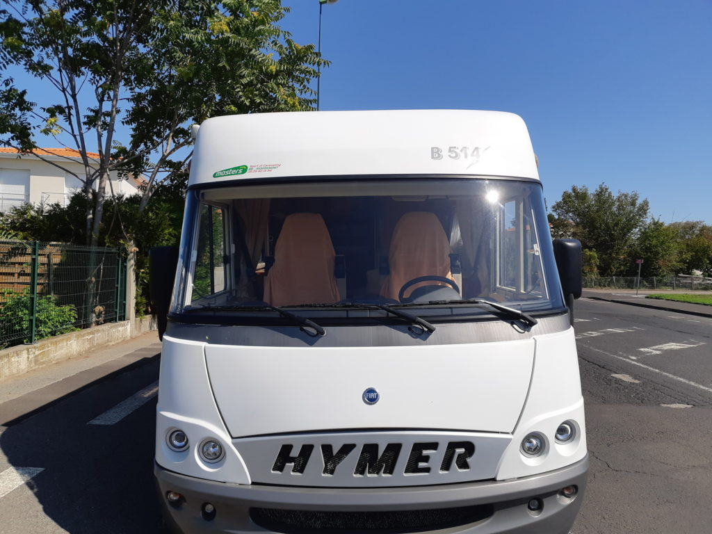 camping car remplacement pare brise