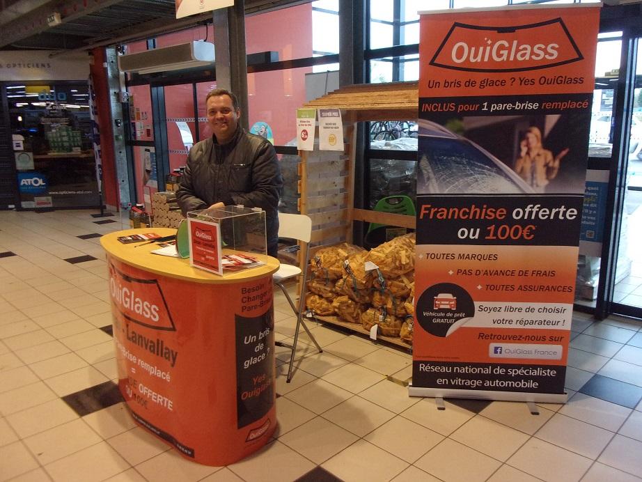 stands OuiGlass à Dinan