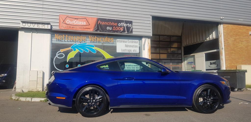 Remplacement pare-brise à pamiers : Mustang GT
