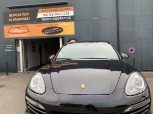 Remplacement de pare-brise : Porsche Cayenne