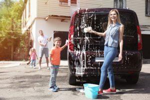voiture familiale propre