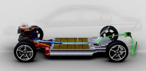Batterie automobile électrique