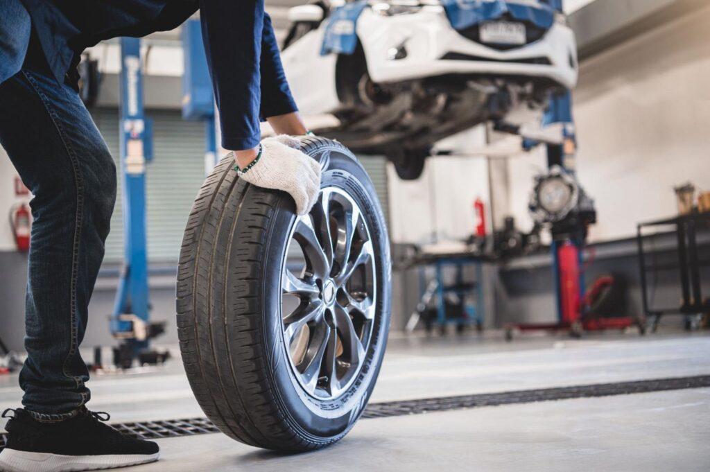 Désalignement pneus