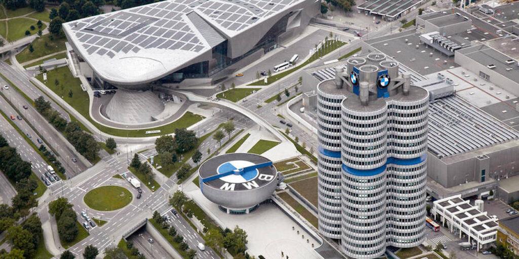 Le siège social de BMW à Munich