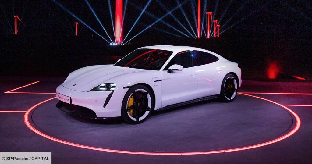 La Porsche Taycan électrique