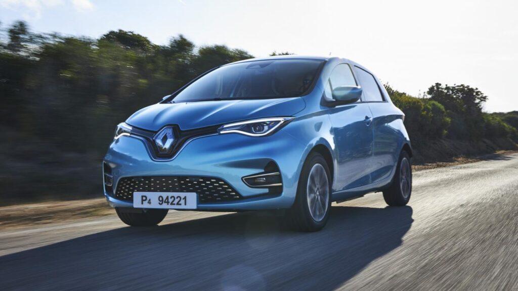 La dernière génération de Renault Zoé