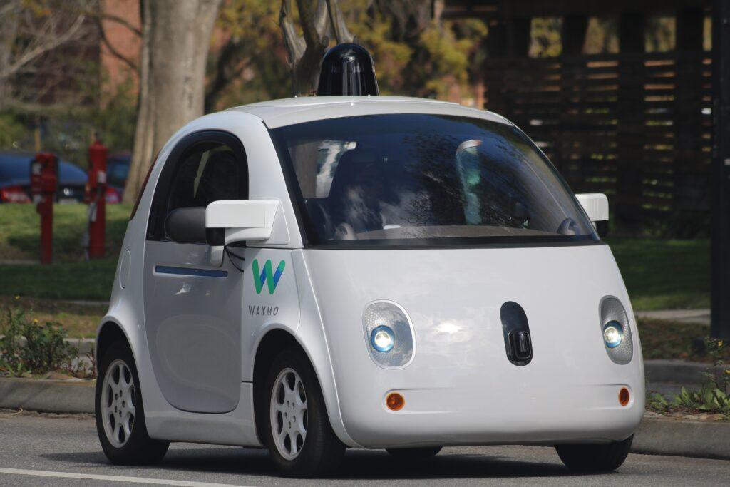 Une voiture autonome Waymo