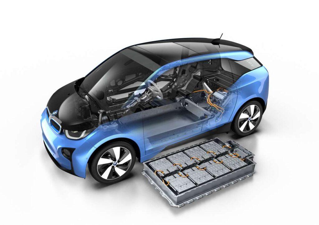 Une batterie électrique chez BMW