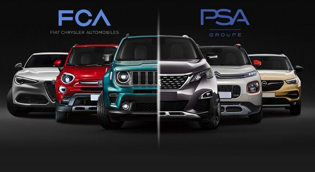 Stellantis : Le futur constructeur résultera de la fusion entre PSA et Fiat-Chrysler