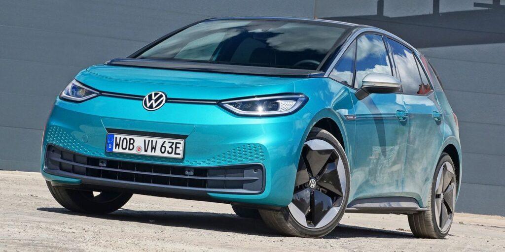 La nouvelle citadine Volkswagen ID.3 électrique